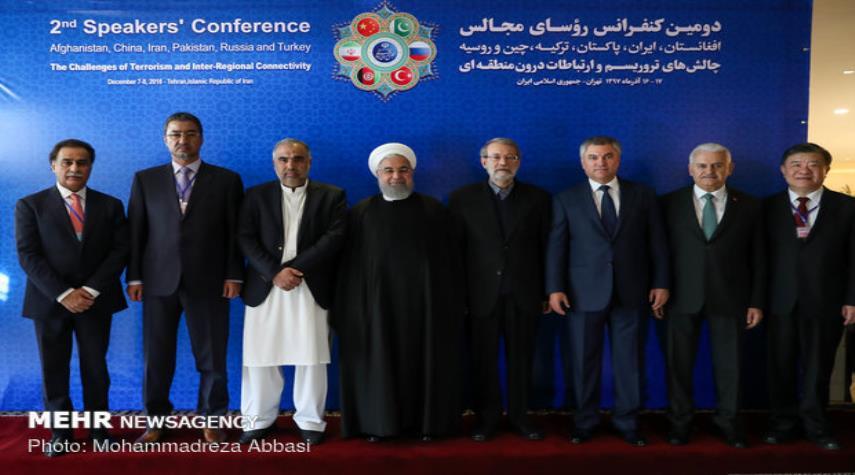 بالصور ...المؤتمر الثاني لرؤساء برلمانات الدول الست حول مكافحة الإرهاب