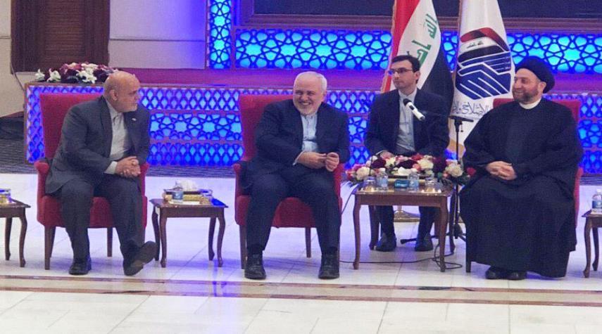 ظريف يكشف عن زيارة قريبة للرئيس الايراني الى العراق