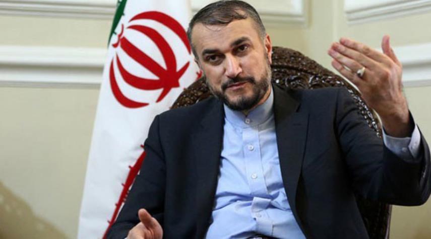عبداللهيان يدين ممارسات تل ابيب ضد الفلسطينيين