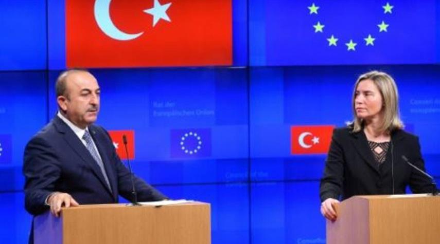 تركيا والاتحاد الاوروبي يستأنفان الحوار السياسي
