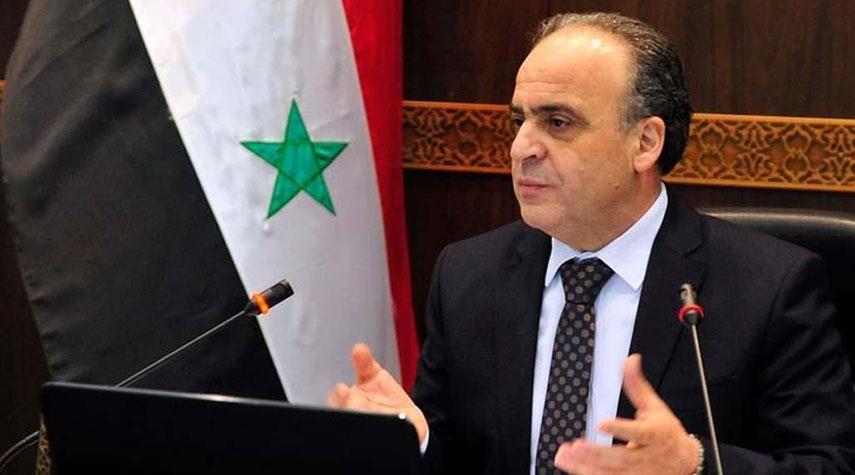 رئيس الوزراء السوري يؤكد أهمية تعزيز التعاون بين دمشق وطهران