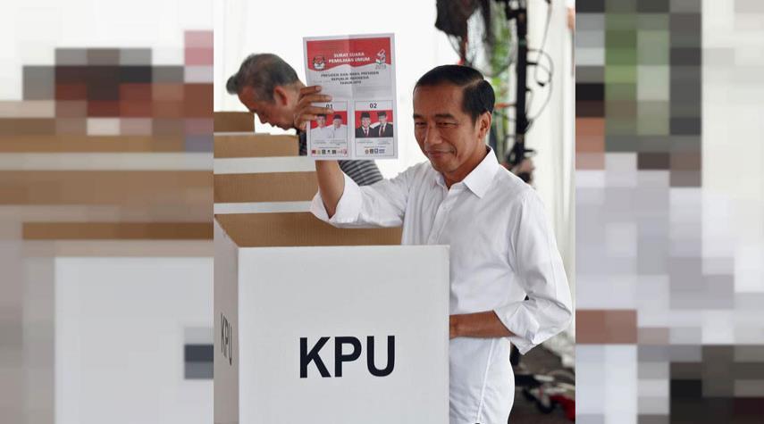 انطلاق التصويت بإندونيسيا لأكبر انتخابات في تاريخها