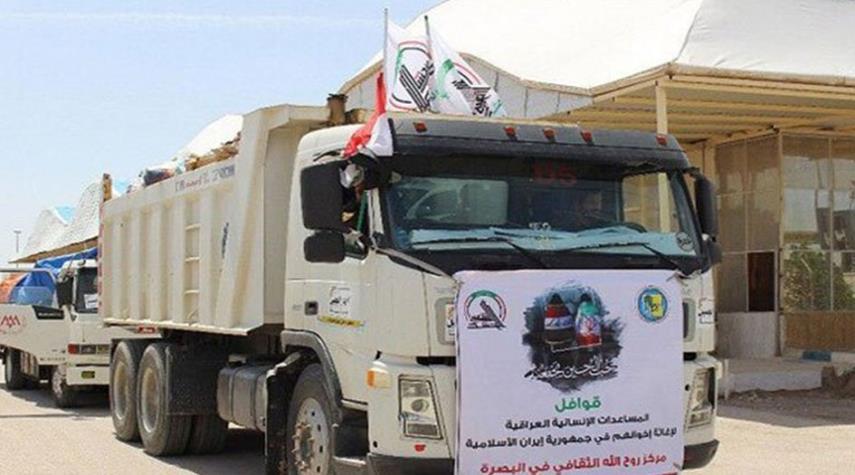 المقاومة العراقية تواصل عمليات الإغاثة لمنكوبي السيول