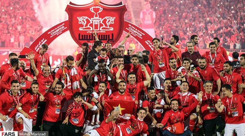 برسبوليس... بطل الدوري الايراني الممتاز لكرة القدم