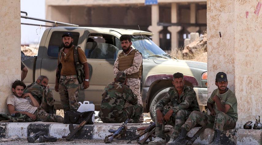 القوات السورية تتصدى لهجمات ارهابية في حماة الشمالي