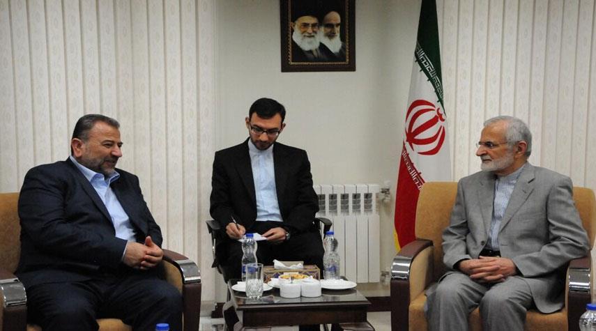خرازي يؤكد ان تحرير فلسطين احد تطلعات الجمهورية الاسلامية