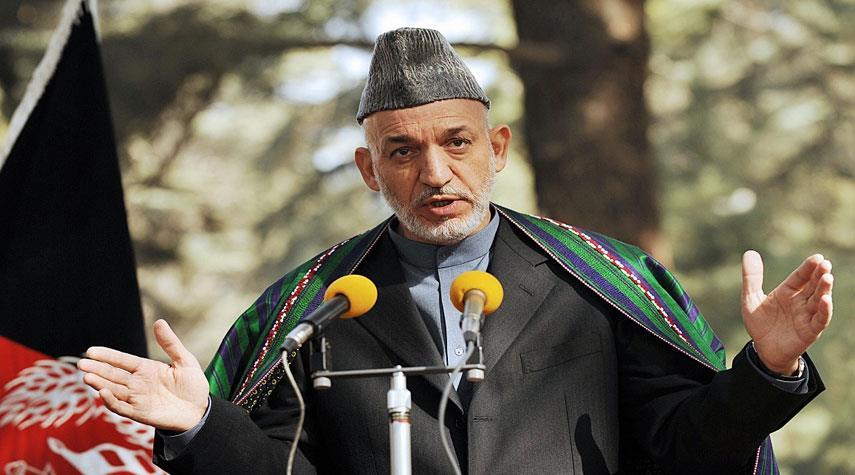 كرزاي يؤكد ضرورة مشاركة إيران في عملية السلام الأفغانية