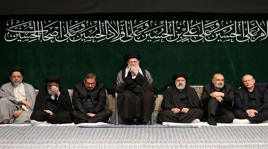 مراسم الليلة الاخيرة للعزاء الحسيني تقام بحضور قائد الثورة