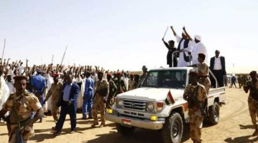 البرهان يرعى احتفال صلح بين قبيلتين سودانيتين