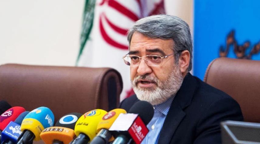 وزير الداخلية...اعداء ايران يخشون تعزيز نفوذها السياسي بالمنطقة