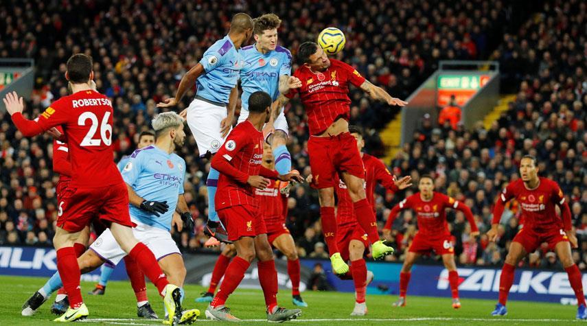 ليفربول يهزم مانشستر سيتي بثلاثية بالدوري الانكليزي