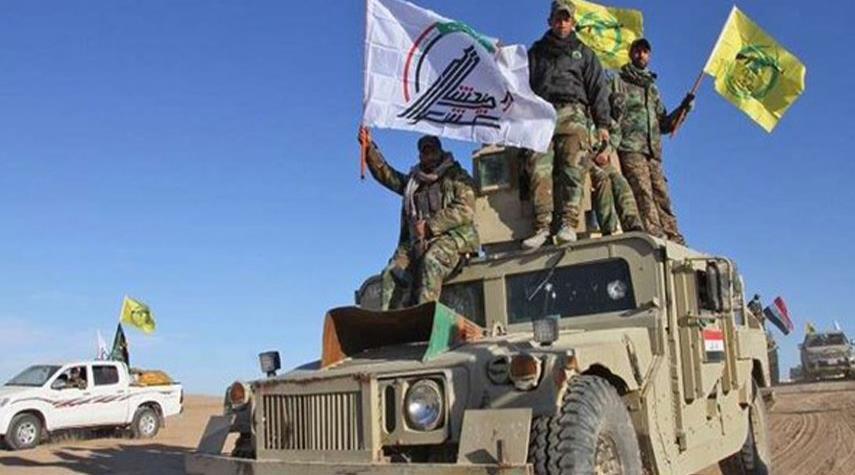 العراق... الحشد الشعبي يحبط تعرضا لداعش في خانقين