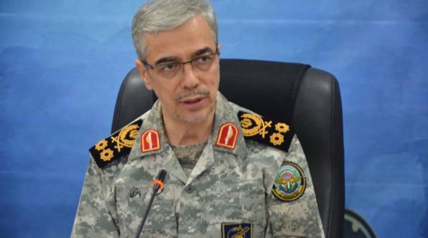 اللواء باقري يتحدث عن مرحلة مهمة بلغتها القوات المسلحة الإيرانية