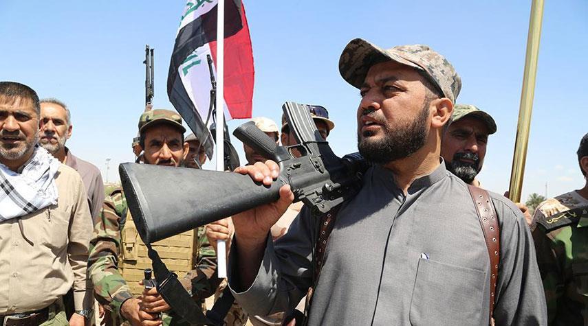 الحشد الشعبي يحذر من تسلل داعش ويكشف مناطق تواجدهم