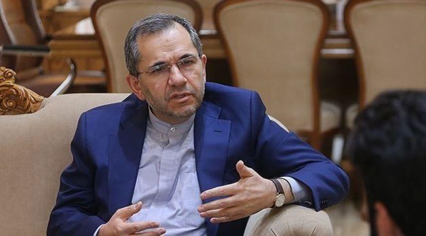 تخت روانجي يؤكد ان ادارة ترامب تناصب العداء للشعب الايراني
