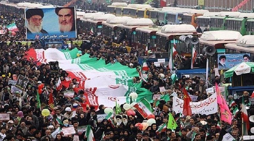 غدا .. الشعب الايراني يجدد عنفوان الثورة وعظمة الدولة