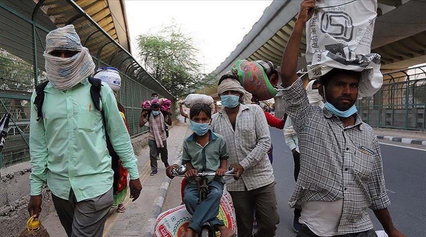 الهند تسجل أكثر من 6000 إصابة بفيروس كورونا خلال يوم