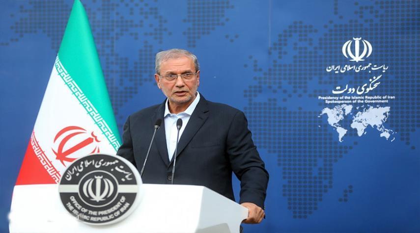 المتحدث باسم الحكومة الايرانية : نواصل التبادل التجاري مع اي دولة شئنا