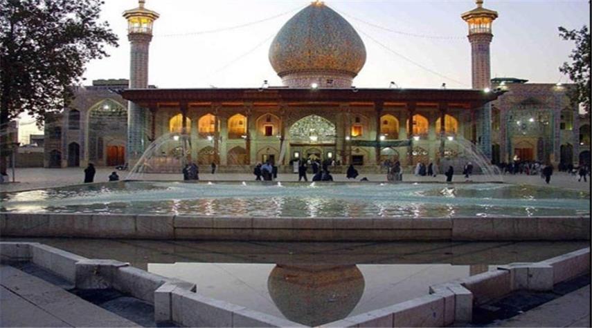 بالصور.. مقام السيد أحمد بن موسى الكاظم (ع) في شيراز