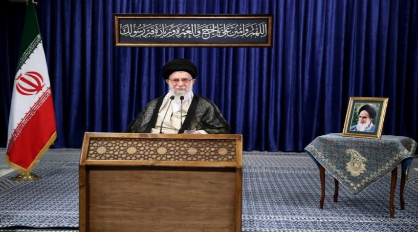 بالصور.. كلمة الإمام الخامنئي المتلفزة بمناسبة عيد الأضحى المبارك
