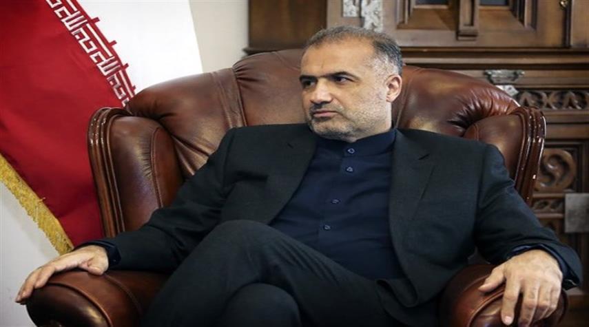 السفير الايراني لدى موسكو: لن نتسامح مع التعدي على حدود بلادنا
