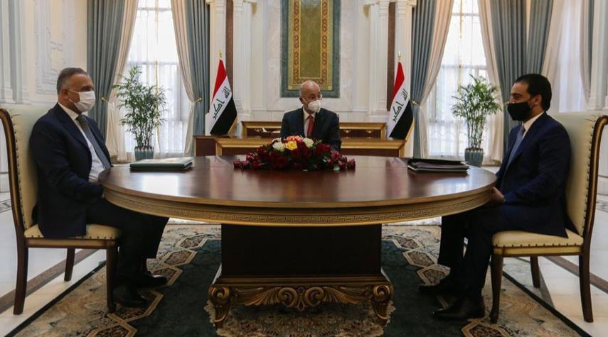 الرئاسات العراقية تبحث تأجيل الانتخابات المبكرة