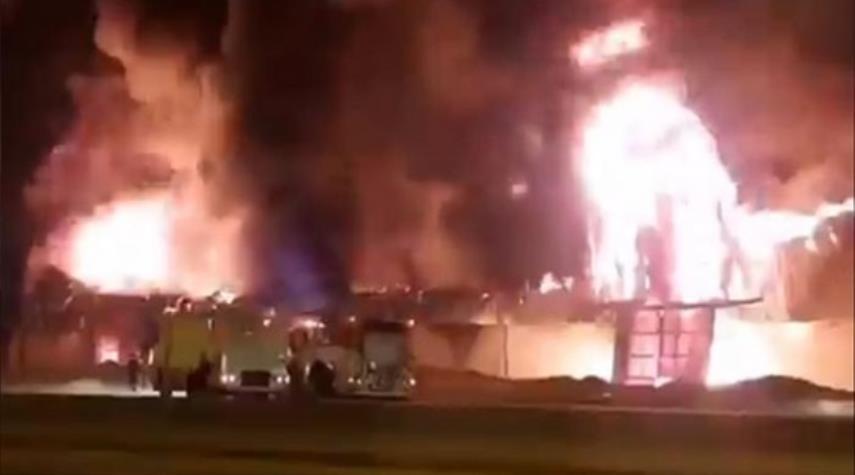 دمشق: انفجارات وحريق في منشأتين للنفط والغاز بحمص