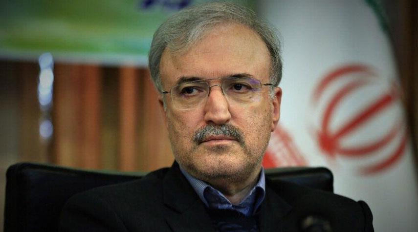 وزير الصحة الايراني: نجاحنا بالسيطرة على كورونا مدين بالكثير لدعم قائد الثورة