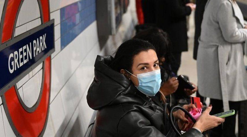 كورونا... بريطانيا تسجل 8489 إصابة و548 وفاة جديدة بالفيروس