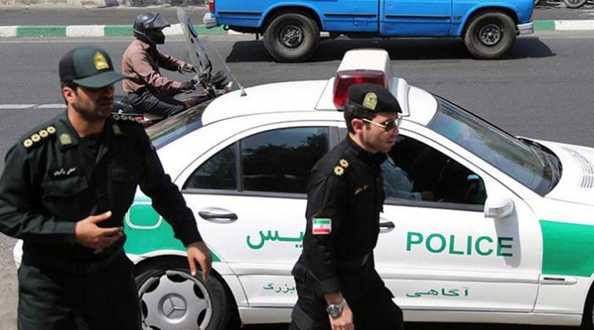 إلقاء القبض على مجرم بحزام ناسف عند مدخل العاصمة الايرانية