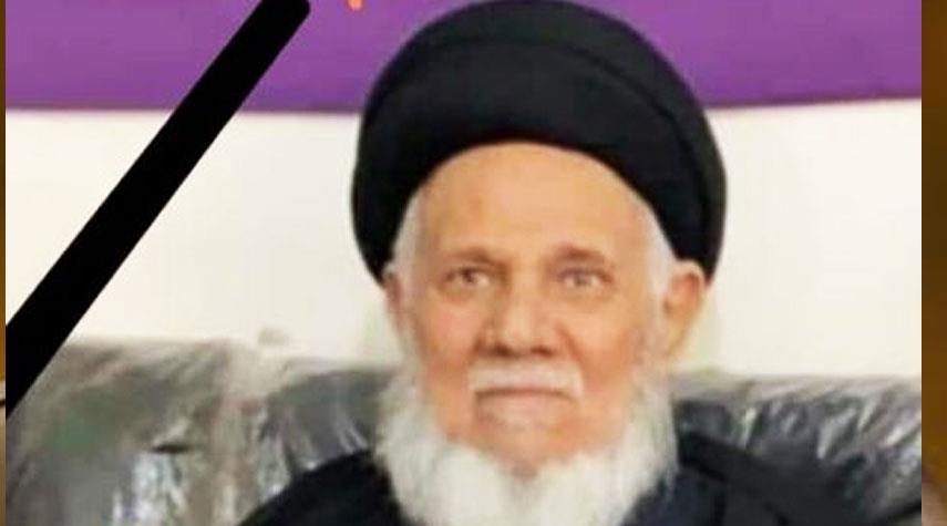 السفير الايراني في بغداد يعزي برحيل آية الله الصافي