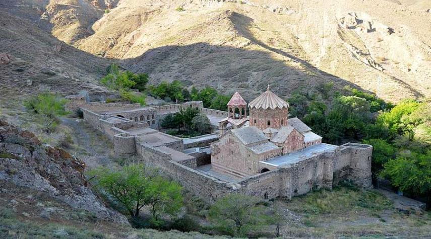 """""""سنت إسبانوس"""" ثاني أهم كنيسة للأرمن"""