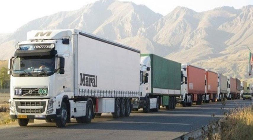 الجمارك الايرانية: التبادل التجاري مع دول الجوار بلغ 36.5 مليار دولار