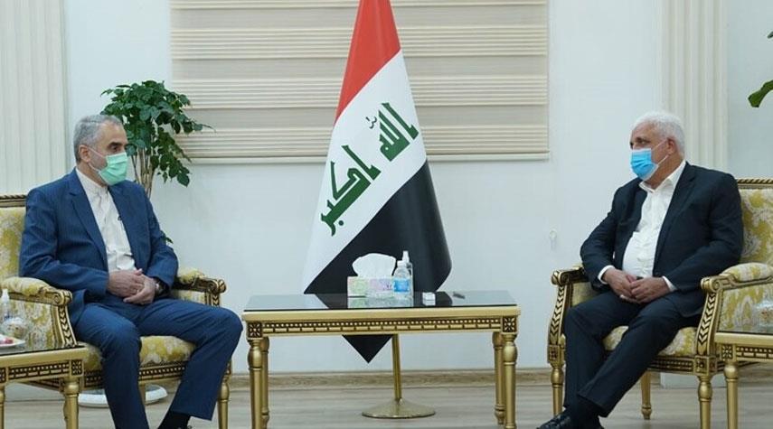 مباحثات ايرانية - عراقية بشأن تعزيز التعاون العسكري بين البلدين