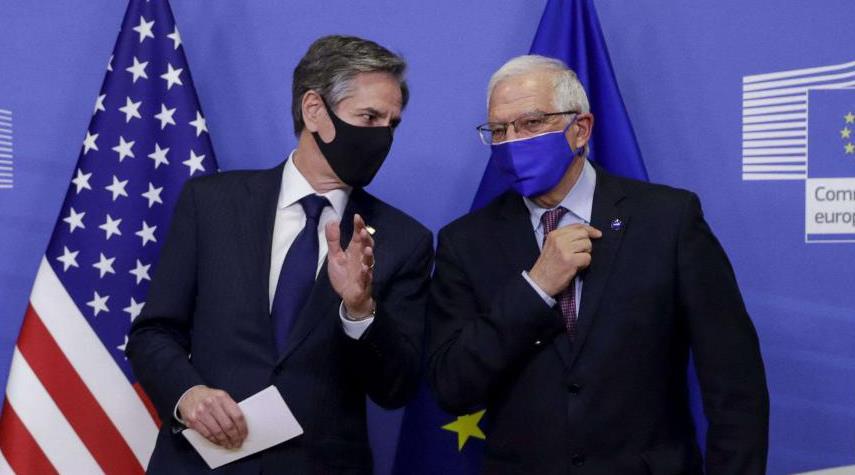 اميركا واوروبا يتباحثان حول عودة واشنطن الى الاتفاق النووي