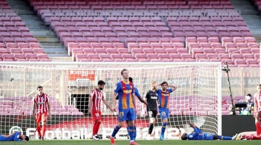 الدوري الإسباني.. برشلونة وأتلتيكو يتعادلان في قمة المباريات