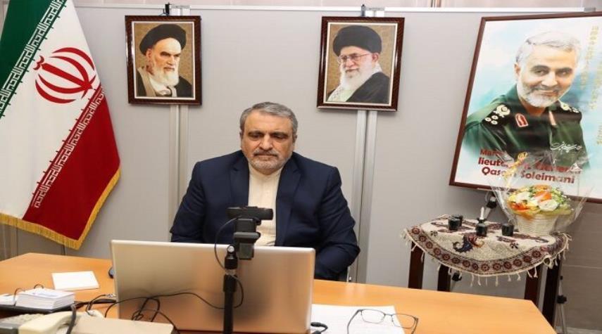 السفير الايراني في طوكيو : التعامل مع الكيان الصهيوني خيانة للشعب الفلسطيني