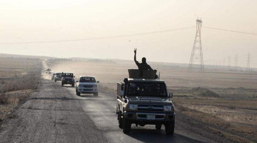 اختتام الصفحة الثالثة من عمليات {علي ولي الله} جنوب الموصل في العراق