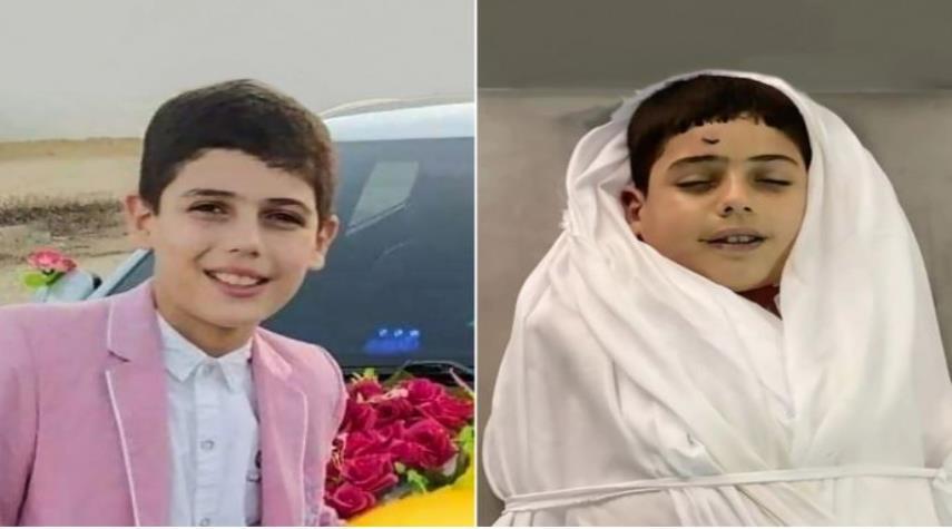 أيقونة أطفال غزة يستشهد صائماً مبتسماً