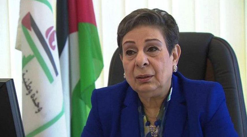 حنان عشراوي: مؤسسة الرئاسة الفلسطينية لا تسمع ولا تقبل النقد