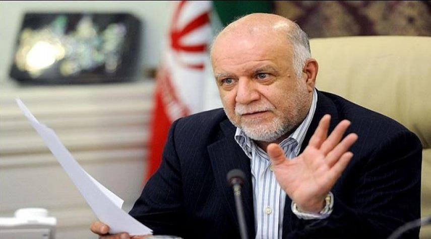 وزير النفط الايراني: مشروع نقل النفط الى جاسك مؤشر على كسر الحظر