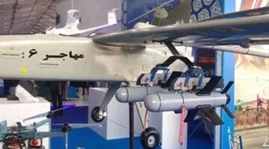 زيارة وفد ايران لمعرض الطيران والفضاء الدولي بموسكو