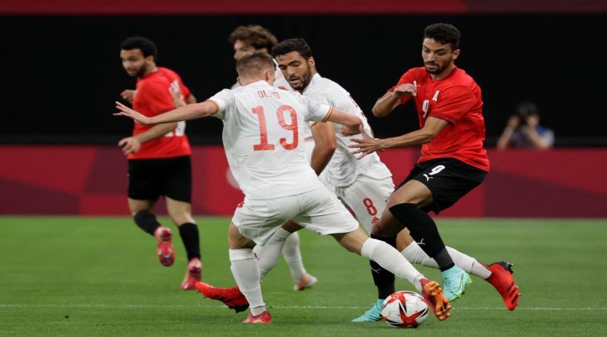 مصر تقتنص نقطة ثمينة من إسبانيا بتعادلها في أولمبياد طوكيو