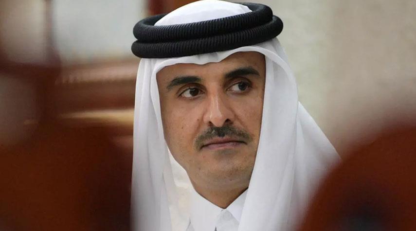 أمير قطر يعلن حضوره