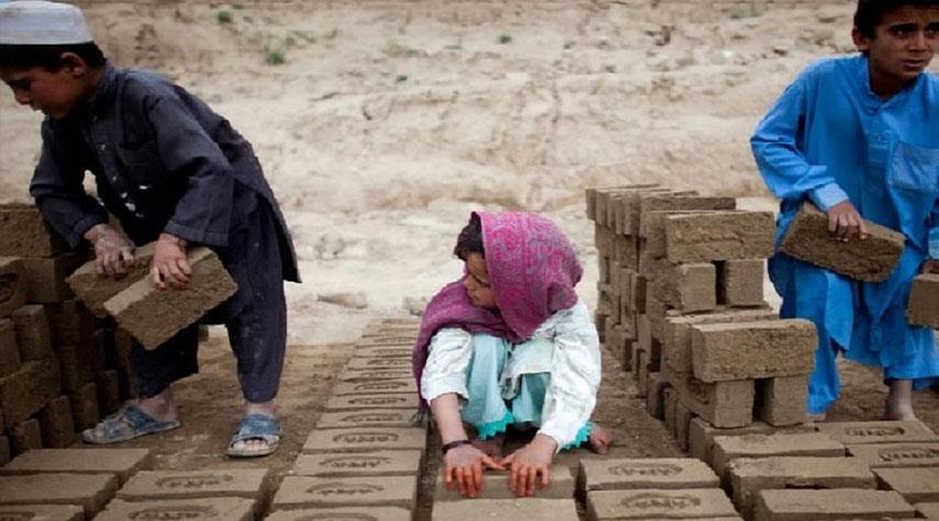 الأمم المتحدة : مليون طفل أفغاني معرضون للموت نتيجة نقص الغذاء