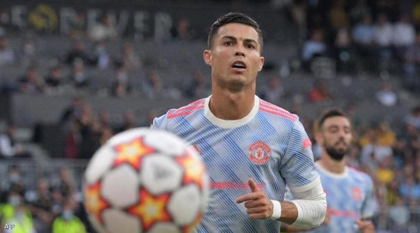 رونالدو يعلق على أول خسارة له مع مانشستر يونايتد