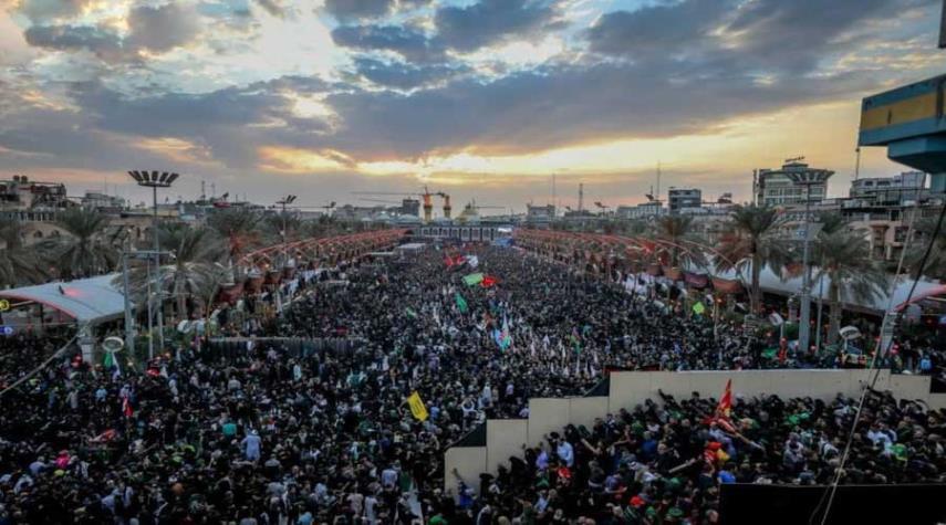 العتبة الحسينية: إنسيابية عالية في الزيارة وتوافد الملايين