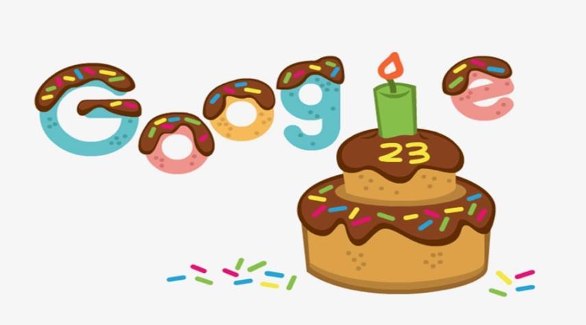 غوغل يحتفل بعيد ميلاده الثالث والعشرين